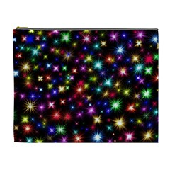 Fireworks Rocket New Year S Day Cosmetic Bag (xl)