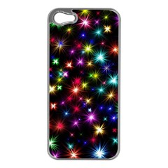 Fireworks Rocket New Year S Day Apple Iphone 5 Case (silver)