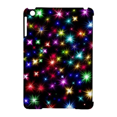 Fireworks Rocket New Year S Day Apple Ipad Mini Hardshell Case (compatible With Smart Cover)