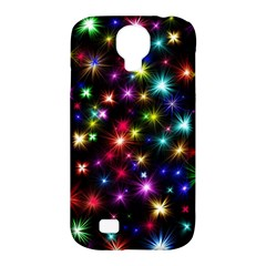 Fireworks Rocket New Year S Day Samsung Galaxy S4 Classic Hardshell Case (pc+silicone)