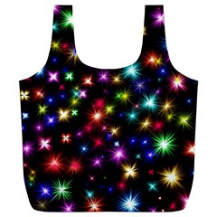 Fireworks Rocket New Year S Day Full Print Recycle Bags (l)