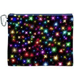 Fireworks Rocket New Year S Day Canvas Cosmetic Bag (xxxl)