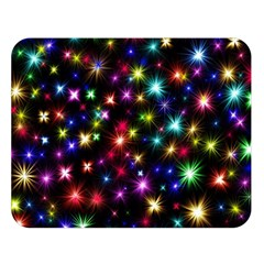 Fireworks Rocket New Year S Day Double Sided Flano Blanket (large)