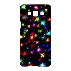 Fireworks Rocket New Year S Day Samsung Galaxy A5 Hardshell Case