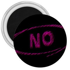 No Cancellation Rejection 3  Magnets