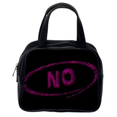 No Cancellation Rejection Classic Handbags (one Side)