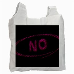 No Cancellation Rejection Recycle Bag (one Side)