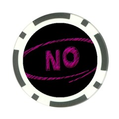 No Cancellation Rejection Poker Chip Card Guard (10 Pack)