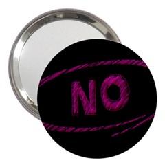 No Cancellation Rejection 3  Handbag Mirrors