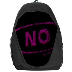 No Cancellation Rejection Backpack Bag