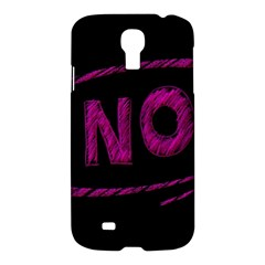 No Cancellation Rejection Samsung Galaxy S4 I9500/i9505 Hardshell Case