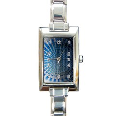 Data Computer Internet Online Rectangle Italian Charm Watch