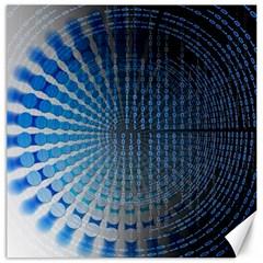 Data Computer Internet Online Canvas 12  X 12