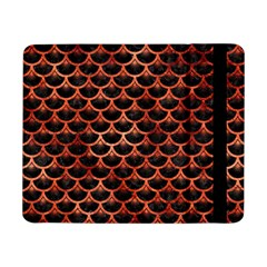 Scales3 Black Marble & Copper Paint (r) Samsung Galaxy Tab Pro 8 4  Flip Case