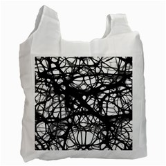 Neurons Brain Cells Brain Structure Recycle Bag (two Side)