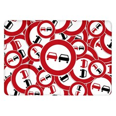 Overtaking Traffic Sign Samsung Galaxy Tab 8 9  P7300 Flip Case