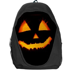 Pumpkin Helloween Face Autumn Backpack Bag
