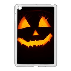 Pumpkin Helloween Face Autumn Apple Ipad Mini Case (white)