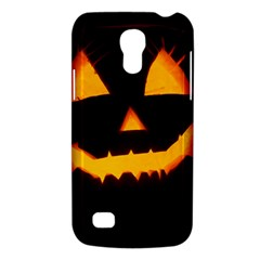 Pumpkin Helloween Face Autumn Galaxy S4 Mini