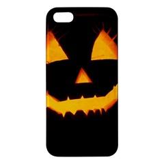 Pumpkin Helloween Face Autumn Iphone 5s/ Se Premium Hardshell Case
