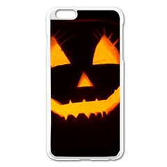 Pumpkin Helloween Face Autumn Apple Iphone 6 Plus/6s Plus Enamel White Case