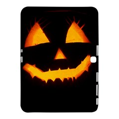 Pumpkin Helloween Face Autumn Samsung Galaxy Tab 4 (10 1 ) Hardshell Case