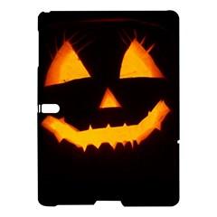 Pumpkin Helloween Face Autumn Samsung Galaxy Tab S (10 5 ) Hardshell Case
