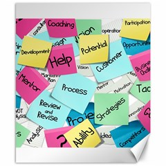 Stickies Post It List Business Canvas 8  X 10