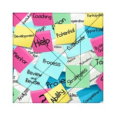 Stickies Post It List Business Acrylic Tangram Puzzle (6  X 6 )