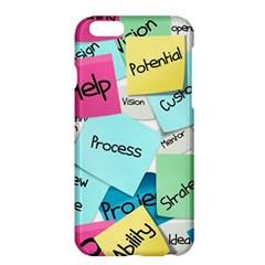 Stickies Post It List Business Apple Iphone 6 Plus/6s Plus Hardshell Case