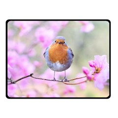 Spring Bird Bird Spring Robin Fleece Blanket (small)