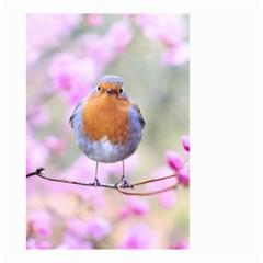 Spring Bird Bird Spring Robin Small Garden Flag (two Sides)