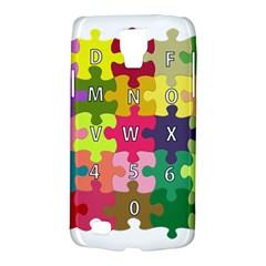 Puzzle Part Letters Abc Education Galaxy S4 Active
