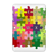 Puzzle Part Letters Abc Education Samsung Galaxy Tab 2 (10 1 ) P5100 Hardshell Case