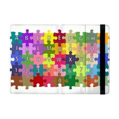 Puzzle Part Letters Abc Education Ipad Mini 2 Flip Cases