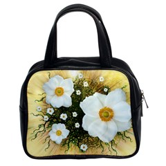 Summer Anemone Sylvestris Classic Handbags (2 Sides)
