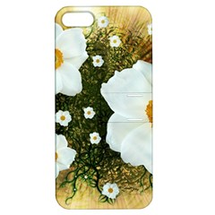 Summer Anemone Sylvestris Apple Iphone 5 Hardshell Case With Stand