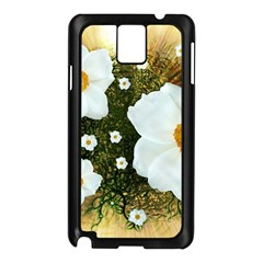 Summer Anemone Sylvestris Samsung Galaxy Note 3 N9005 Case (black)