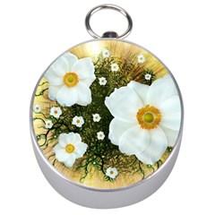 Summer Anemone Sylvestris Silver Compasses