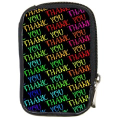 Thank You Font Colorful Word Color Compact Camera Cases