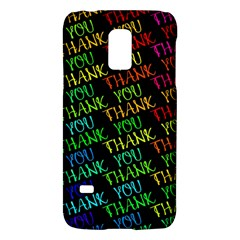 Thank You Font Colorful Word Color Galaxy S5 Mini