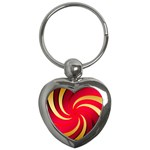 Tinker Color Share Many About Key Chains (Heart)  Front