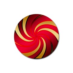 Tinker Color Share Many About Rubber Round Coaster (4 Pack)