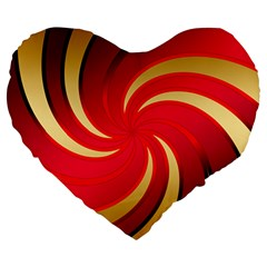 Tinker Color Share Many About Large 19  Premium Heart Shape Cushions