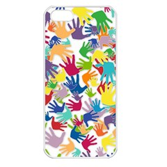 Volunteers Hands Voluntary Wrap Apple Iphone 5 Seamless Case (white)