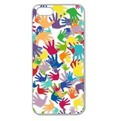 Volunteers Hands Voluntary Wrap Apple Seamless Iphone 5 Case (clear)