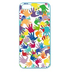 Volunteers Hands Voluntary Wrap Apple Seamless Iphone 5 Case (color)