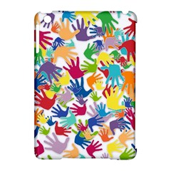 Volunteers Hands Voluntary Wrap Apple Ipad Mini Hardshell Case (compatible With Smart Cover)