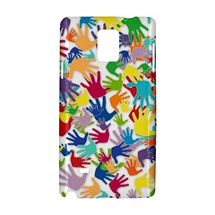 Volunteers Hands Voluntary Wrap Samsung Galaxy Note 4 Hardshell Case