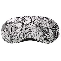 Time Clock Watches Time Of Sleeping Masks